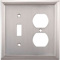 Allen And Roth Wall Plates Prepossessing Legrand Adorne 4Gang Brushed Stainless Steel Square Metal Wall Inspiration Design