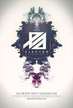 poster / Electro Alternativ 2013, Toulouse