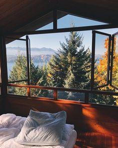 ⛰ Fresh, morning air.