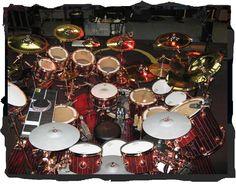 Neil Peart Drum Set | Neil Peart Drum Kit