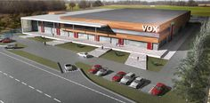 VOX Office and Logistics Building in Thessaloniki, Greece