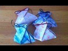 "▶ Handmade - Origami gift box ""Díszdoboz"" - YouTube"
