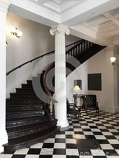 Photo about An image of the Vermont statehouse stairs ascending to the second. Image of leather, checkered, staircase - 76386680 Checkered Floors, Curved Staircase, Vermont, Two By Two, Stairs, Flooring, Architecture, Room, Image
