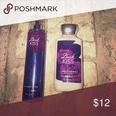 Bath & Body Works Dark Kiss Lotion & Mist Shea & Vitamin E body lotion and fine Fragrance mist. Bath & Body Works Other