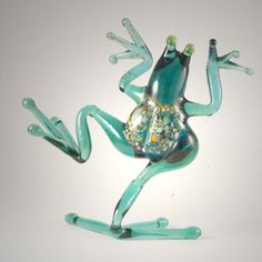 New Products. Dancing Frog Glass Figure is a hand-made glass figurines which is created by... http://russian-crafts.com/glass-figurines/glass-reptiles/dancing-frog-glass-figure.html