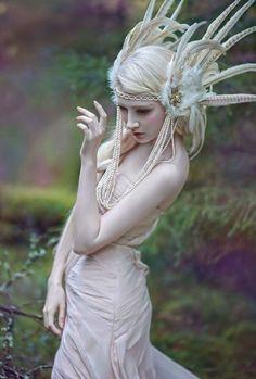 A Fascinating World of Forest Fairies by Agnieszka Lorek - Livemaster - original item, handmade Elfa, Fantasy Photography, Fashion Photography, Maria Amanda, Fable, Do It Yourself Fashion, Fairy Clothes, Spirited Art, Forest Fairy
