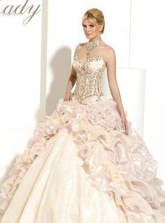 More My Lady Dresses Aimee Skirt Train Wedding