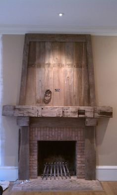 Reclaimed Timber Mantel