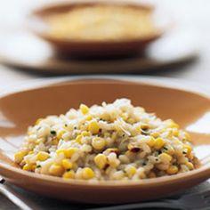 Pan-Roasted Corn Risotto Recipe - Key Ingredient