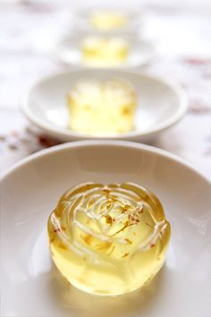 Osmanthus Flower Tea Jelly (桂花糕)