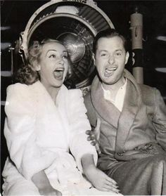 Carole Lombard and Robert Montgomery
