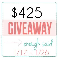 $425 worth of Giveaway Madness