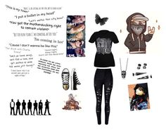 """Hollywood Undead"" by corpseskeleton ❤ liked on Polyvore featuring art"