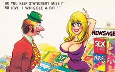 Taken from Saucy Postcards: The Bamforth Collection, a new book which celebrates the golden age of comic postcards.