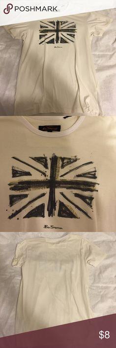 Ben Sherman UK t shirt White Ben Sherman Union Jack t shirt. Ben Sherman Shirts Tees - Short Sleeve