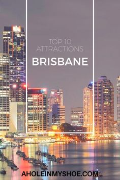 Here are our top 10 Brisbane things to see and do if you're heading to Brisbane so you don't miss out on the best attractions that this city has to offer. Brisbane Attractions, Australia Tourist Attractions, Australia Destinations, Amazing Destinations, Travel Destinations, Holiday Destinations, Sydney Australia Travel, Visit Australia, Travel Pictures