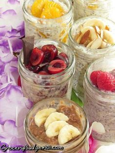 Want a decent breakfast but not in the mood for something hot? Check out these delicious Grab & Go Breakfast cups in 15 different flavors, My fave is Blueberry Maple!