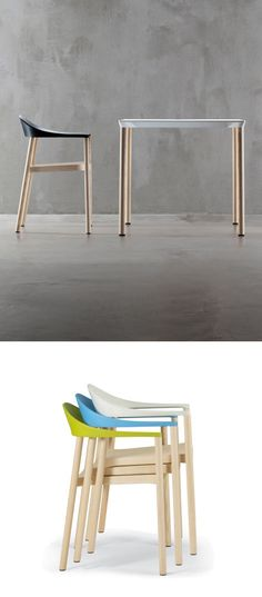 Monza Collection BY Plank   #design Konstantin Grcic