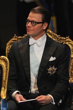 Prince Daniel of Sweden attends the 2012 Nobel Prize Award Ceremony at Concert Hall on December 10, 2012 in Stockholm, Sweden.