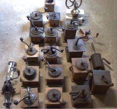 Antique coffee grinders / coffee mills - LOT   eBay