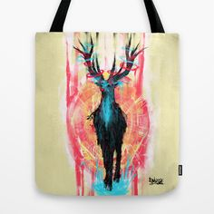 Rednose Tote Bag by DizzyNicky - $22.00