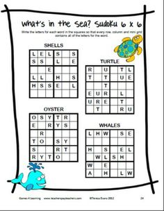 Summer Math Games, Puzzles, Brain Teasers: Summer Packet