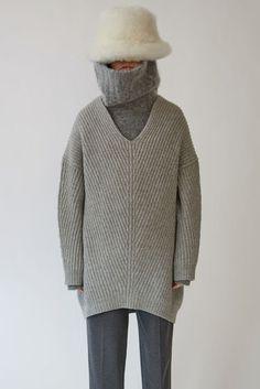 Ready-to-wear Deka L-Wool Pale Grey Melange 375x Fashion Studio ce8a197a4