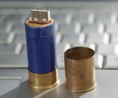 Shotgun Shell USB Stick Case