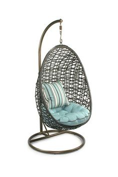 Charmant Hanging Rattan Chairs   The Egg Shaped Hanging Chairs Have A Very 1960u0027s  Vibe. | House And Garden Wednesday | Pinterest | Hanging Chairs, Rattan And  Egg