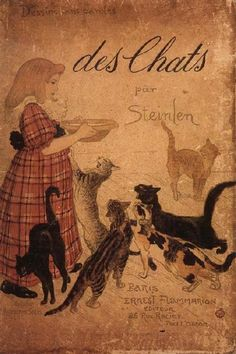 Des Chats  Theophile Alexandre Steinlen