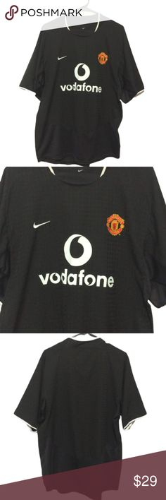 06bd17350 Nike Manchester United Away Jersey Vintage Nike Manchester United Away  Jersey (2003-2004)