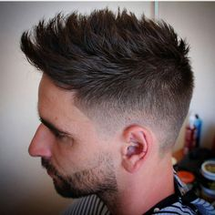 Spain's @agusbarber_ locking in this short men's cut full of texture with Layrite pomade!  #Goodlookoftheday