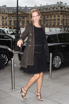 Los VIP de Paris Fashion Week / Uma Thurman