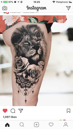 15 Most Amazing Tiger Tattoos For Women When a tiger is tattooed on a women's body, it looks really impressive especially in the thigh, hip, and forearm. Below are 15 amazing tiger tattoos designs.