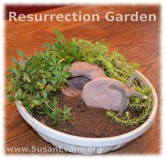 Resurrection Garden - http://susanevans.org/blog/resurrection-garden/