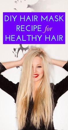 An easy way to get shiny, healthy hair