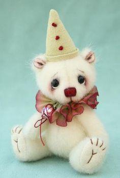 "clarice 3"" - miniature bear"