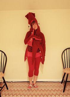 Super Punch: Squid costume