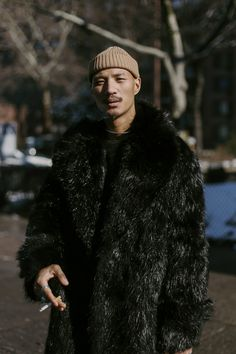 """flongala: """" Model Paolo Roldan in Harlem, 2/5/15 """""""