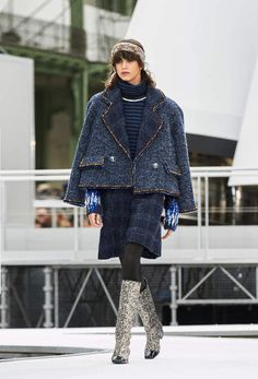 The looks of Fall-Winter 2017/18 Ready-to-wear collection on the CHANEL official website