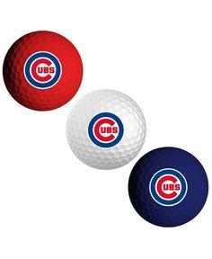 Team Golf Chicago Cubs 3-Pack Golf Ball Set