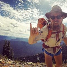 2668 mile journey, Man Hikes Pacific Crest Trail