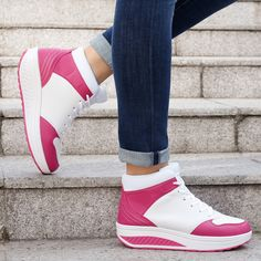 Chaussures de fitness montantes avec intérieur chaud