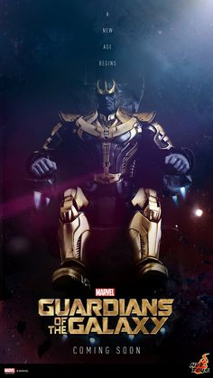 Hot Toys and Sideshow Collectibles have teamed up for a life-like Thanos figure from the 2014 Marvel blockbuster Guardians of the Galaxy. Dc Movies, Comic Movies, Comic Book Characters, Marvel Characters, Marvel Movies, Comic Character, Comic Books Art, Marvel Dc Comics, Heros Comics