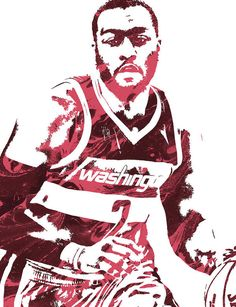 John Wall WASHINGTON WIZARDS PIXEL ART 3 Art Print by Joe Hamilton. All prints are professionally printed, packaged, and shipped within 3 - 4 business days. Joe Hamilton, Nba Pictures, Nba League, John Wall, Hoop Dreams, Nba Wallpapers, Washington Wizards, Thing 1, Basketball Players