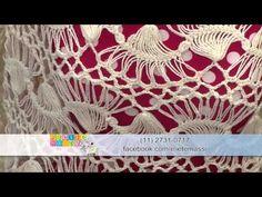 Vida com Arte | Blusa Céu em crochê de grampo por Eliete Massi - 31 de março de 2016 - YouTube