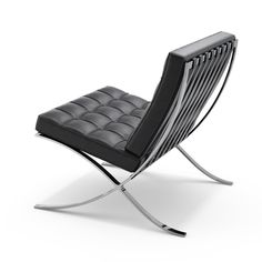 Barcelona® Chair  Ludwig Mies van der Rohe ca.1929  One of the most recognized objects of the last century, and an icon of the modern mo...