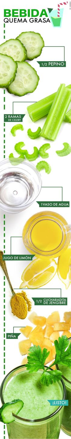 Bebida quema grasa. Encuentra más en... http://www.1001consejos.com/