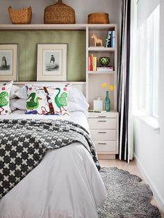 Attractive & Organized Bedroom | photo Donna Griffith | design Jill Greaves | House & Home