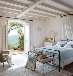 Gypsy Purple home. Dream Bedroom, Home Bedroom, Airy Bedroom, Bedroom Ideas, Bedroom Designs, Bedroom Ceiling, Bedroom Styles, Calm Bedroom, Shabby Bedroom